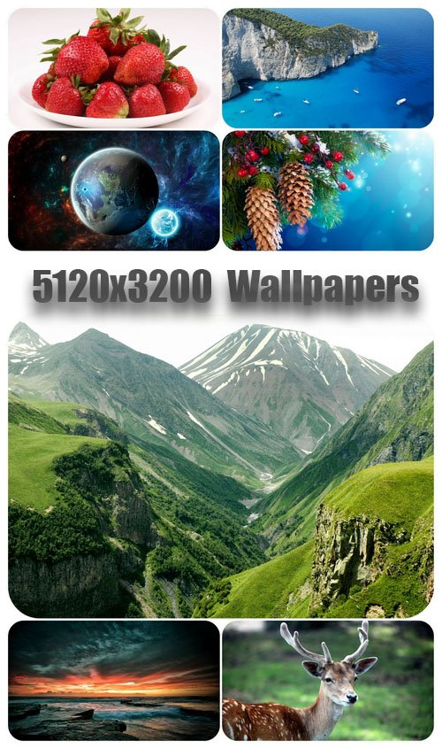 5120x3200 Wide Wallpapers Pack 4