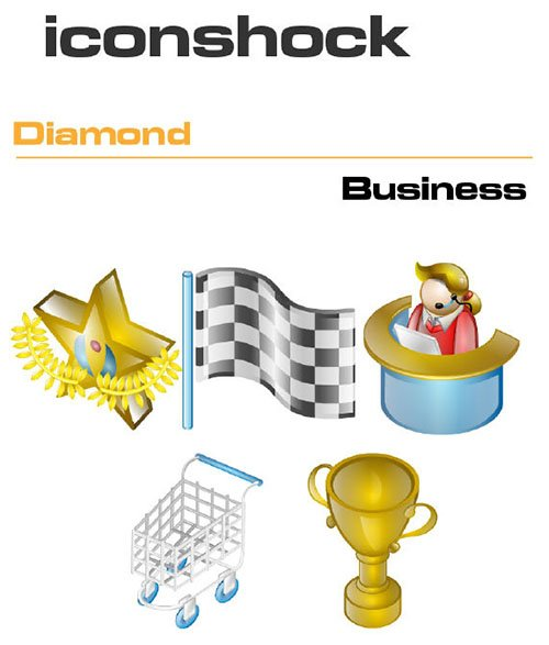 Iconshock Pack - Diamond Business
