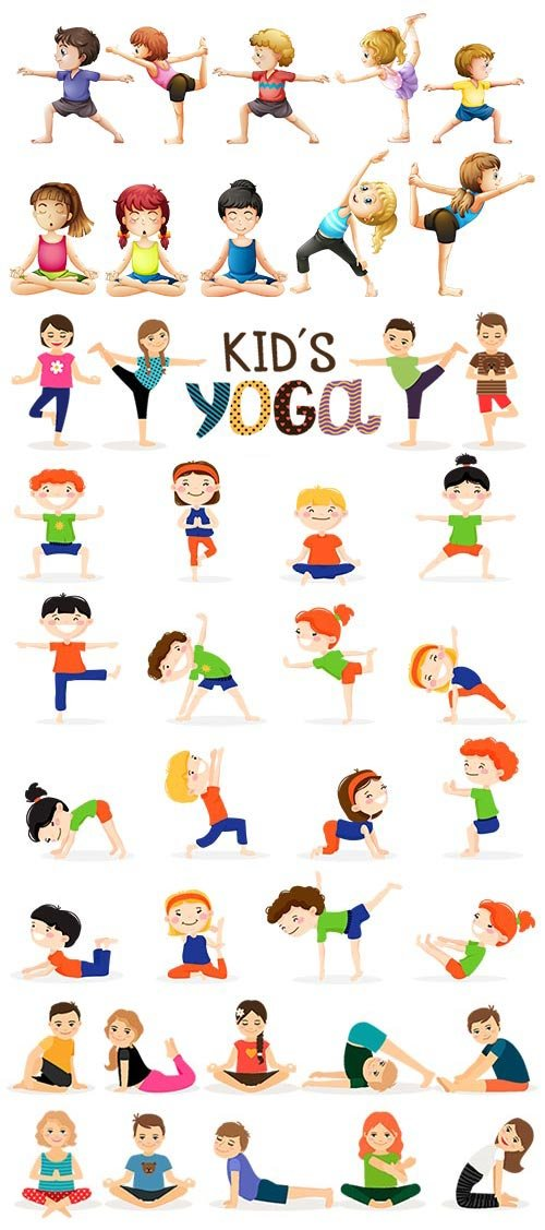 Yoga for Kids Set