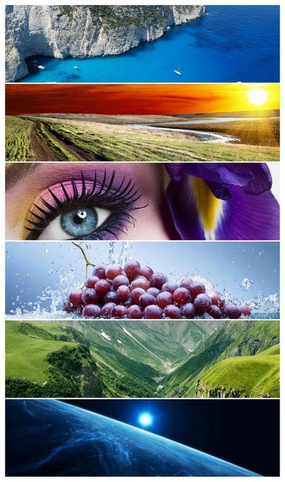 Mixed Panoramics Wallpaper Pack 31