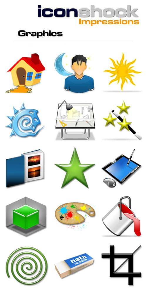 Impressions - graphics icons