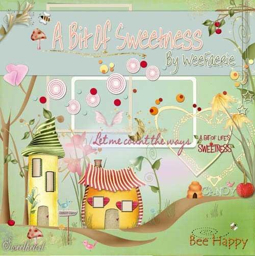 Детский скрап набор - A Bit of Sweetness