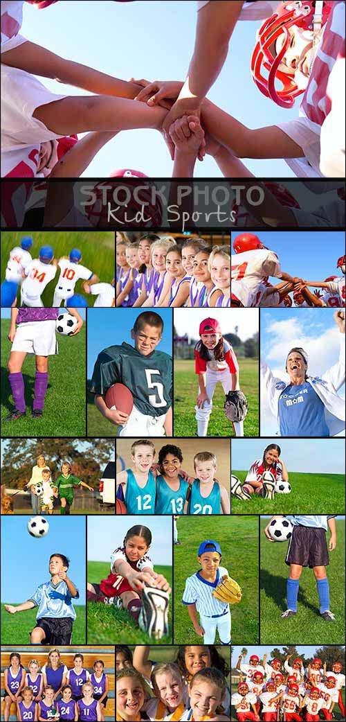 Stock Photo -  Kid Sports