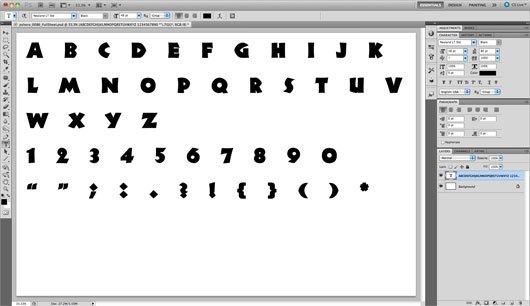 Буквы в стиле скрапбук (scrapbook)