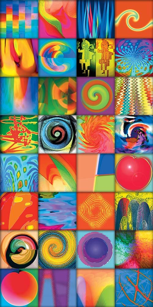 Backgrounds - Swirling Psychedelic