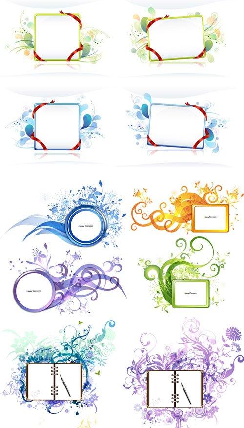 Vectorial beautiful themes