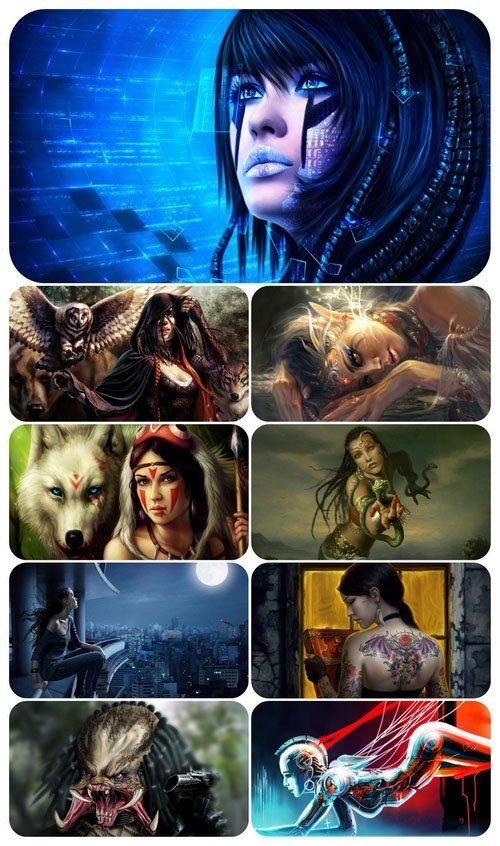 Fantasy 125  - Wallpaper pack