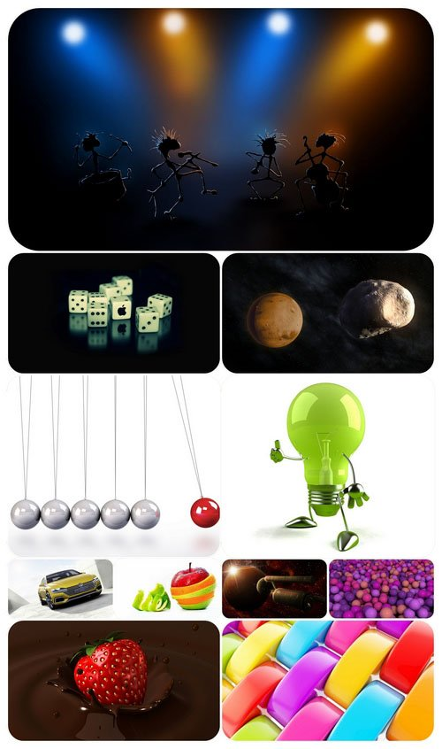 3D graphics wallpaper collection Part 59