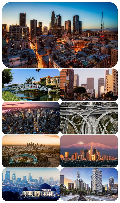 Wallpaper pack - Los Angeles (USA)