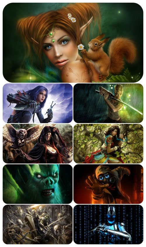 Fantasy 134 - Wallpaper pack