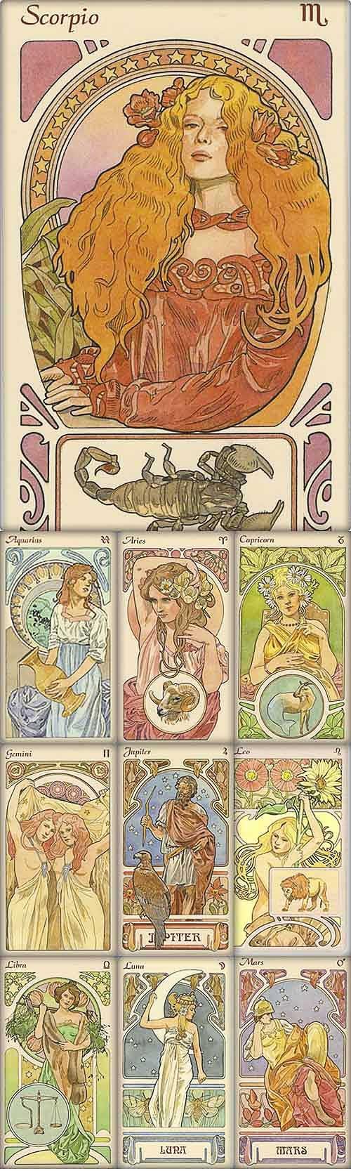 Art Deco Horoscope