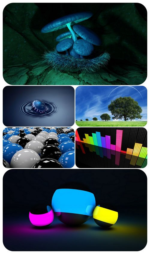 Wallpaper pack - Computer Graphics 1