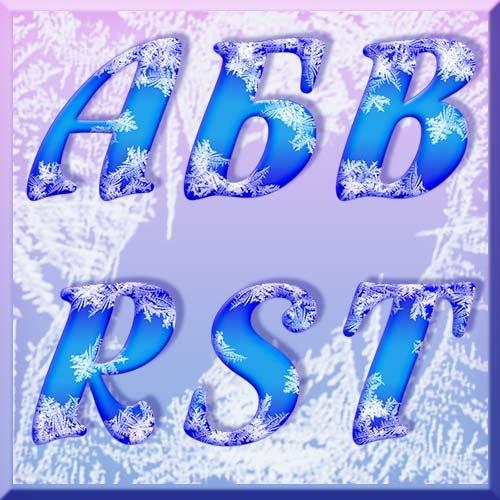 Русский и английский алфавиты -