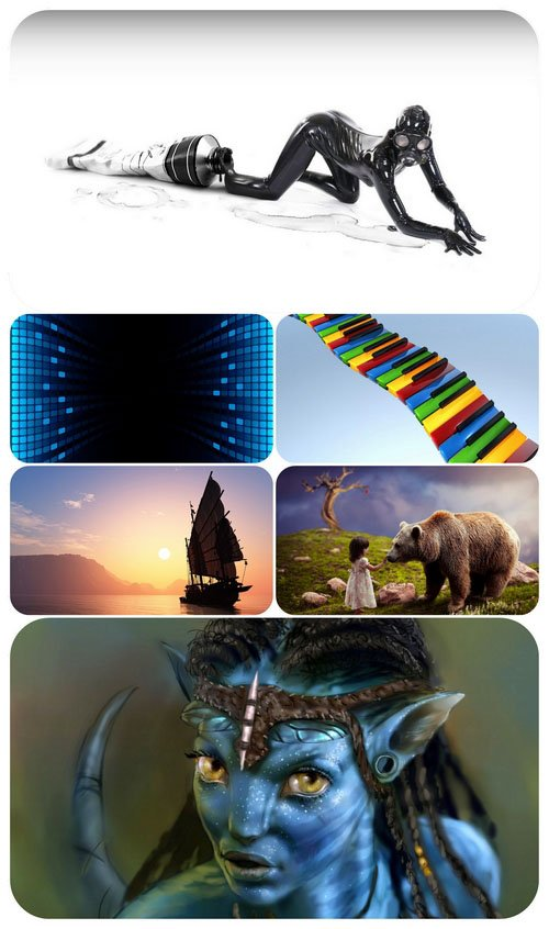 Wallpaper pack - Computer Graphics 20