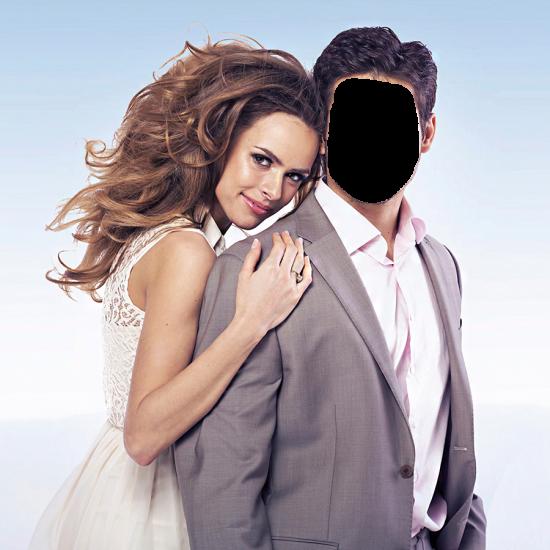 Вставить лицо - Мужчина и женщина