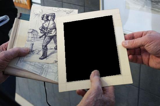 Вставить фото в рамку  - Зарисовки
