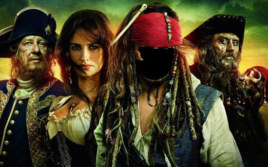Вставить лицо - Пираты карибского моря