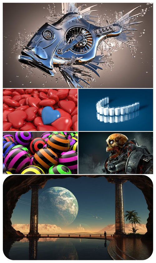 Wallpaper pack - Computer Graphics 25