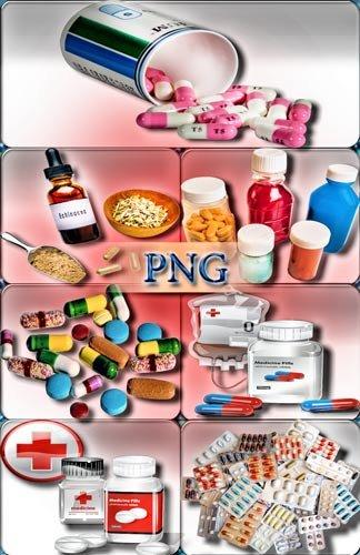 Клипарты Png - Лекарства