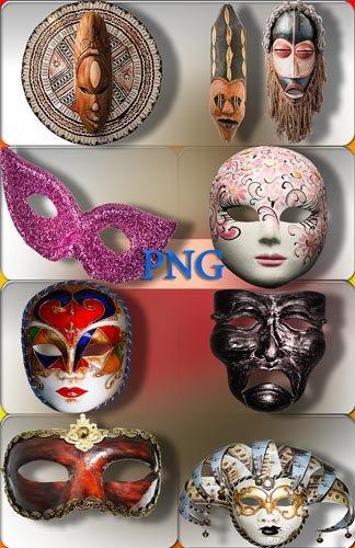 Png для Photoshop - Маскарадные, настенные маски