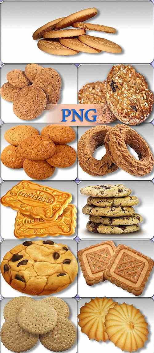 Новые клипарты - Песочное печенье