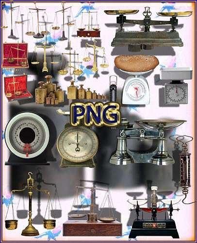Свежие Png клипарты - Механические весы