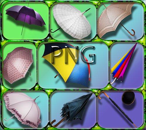 Png Клипарты - Зонты различных моделей