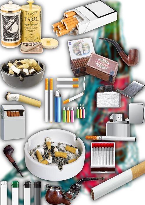 Клипарт png без фона - Сигареты и табак
