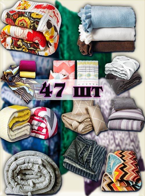 Клип-арты картинки - Теплые одеяла, пледы