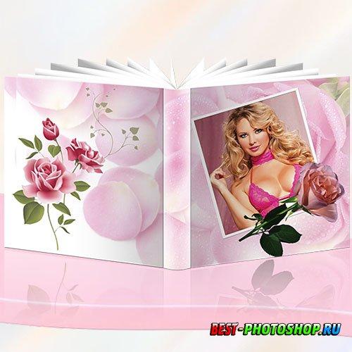 Розовые розы - Фотокнига