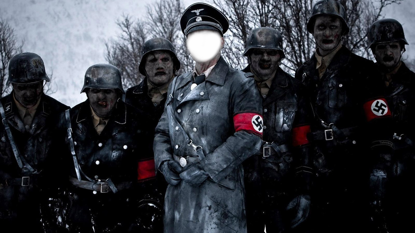 Вставить лицо в рамку - Немцы-зомби