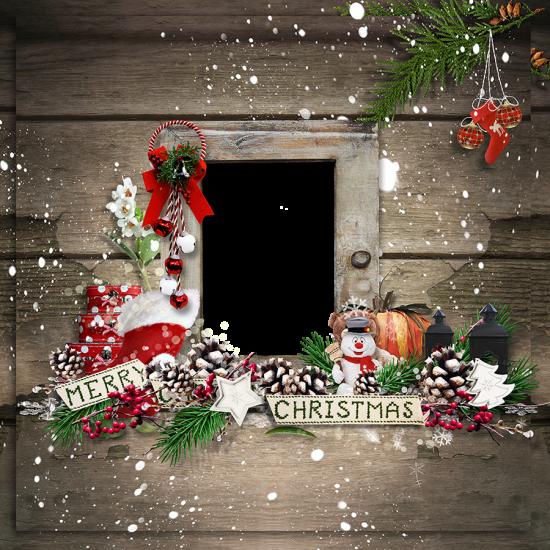 Онлайн рамка - Merry christmas
