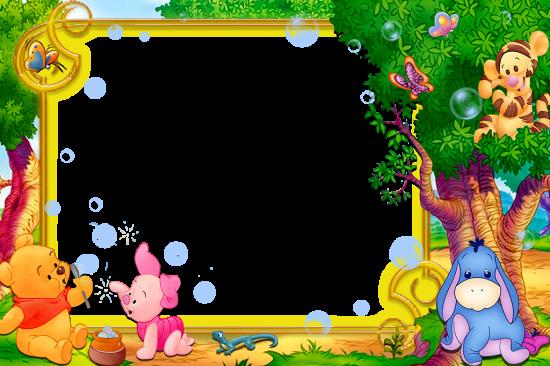 Онлайн рамка - Винни-Пух