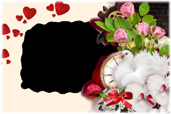 Онлайн рамки - День влюбленных