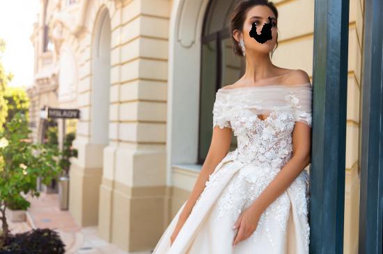 Вставить лицо в фото - Невеста