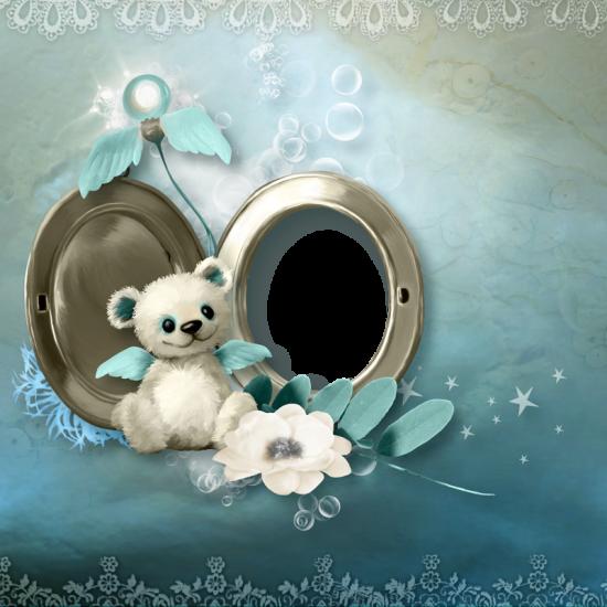Рамка для фото онлайн - Мишка