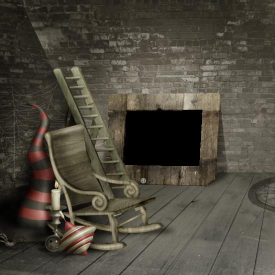 Рамка для фото онлайн - Рамка в подвале