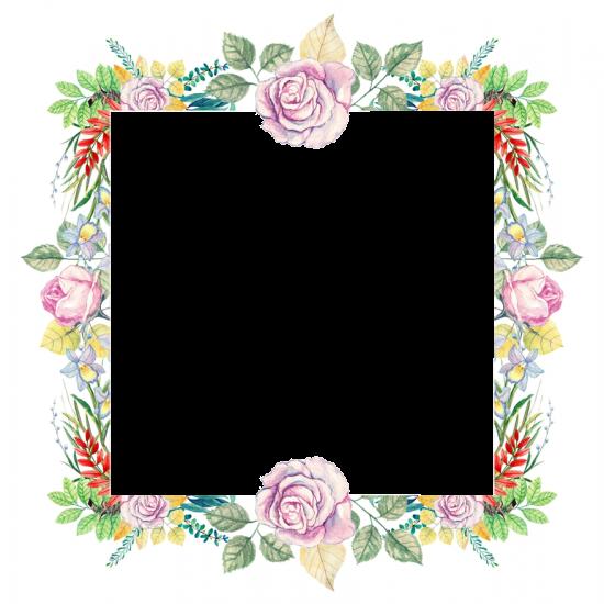 Рамка для фото онлайн - Цветы
