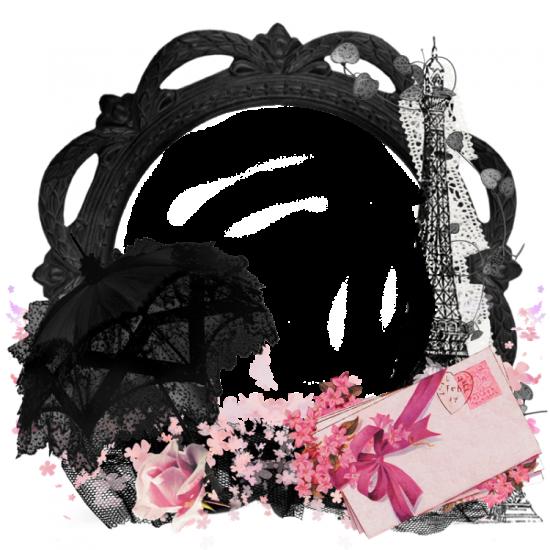 Рамка для фото онлайн - Париж