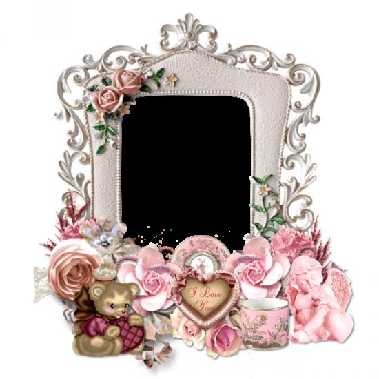 Рамка для фото онлайн - Мишутка для любимой