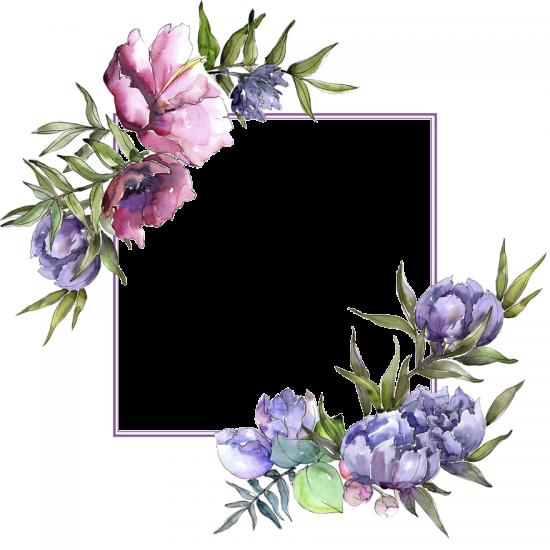Рамка онлайн для фото бесплатно - Цветы