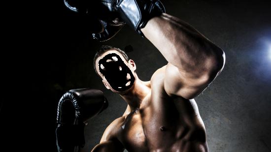 Вставить лицо онлайн - Боксер