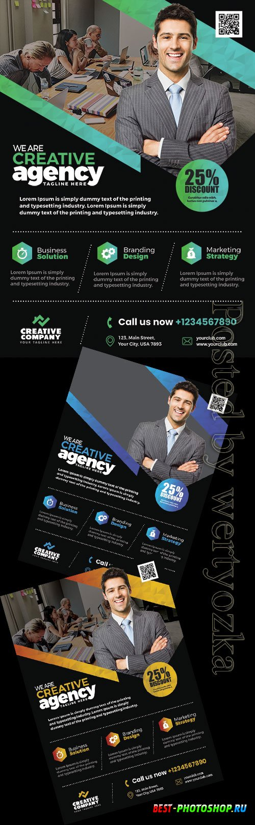 Business Promotion - Premium flyer psd template