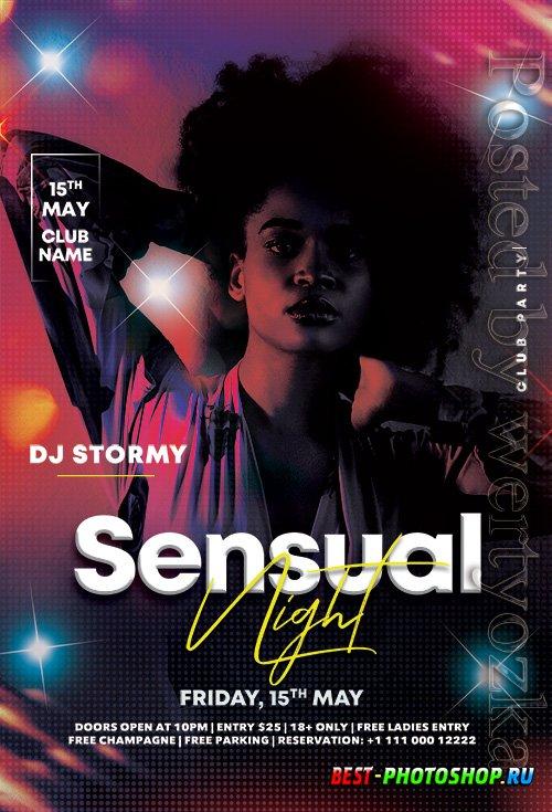 Ladies Club Night - Premium flyer psd template