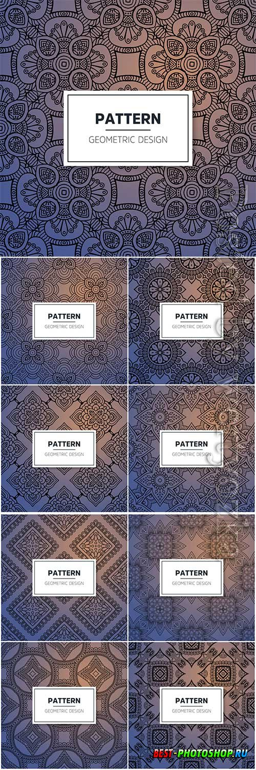 Luxury seamless vector pattern