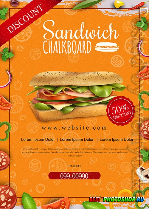 Restaurant Promotion Food Flyer Design