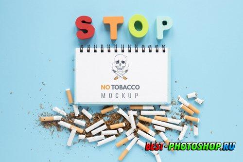 No smoking concept above view