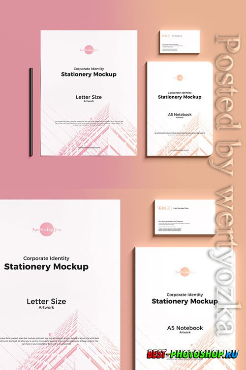 Elegant Branding Stationery Mockup
