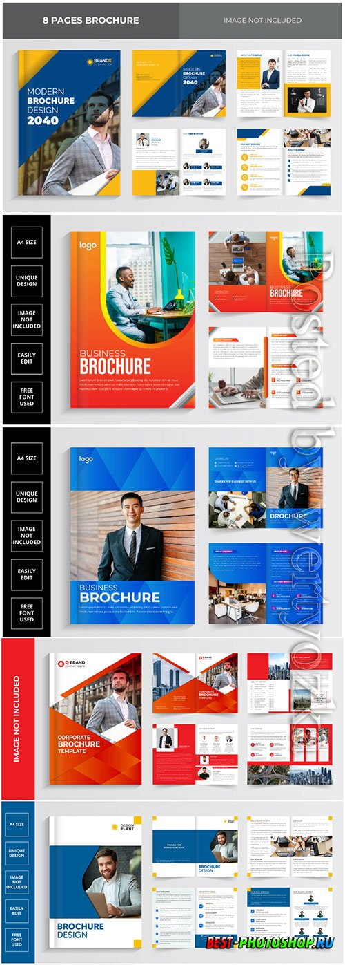 2021 business brochure design template