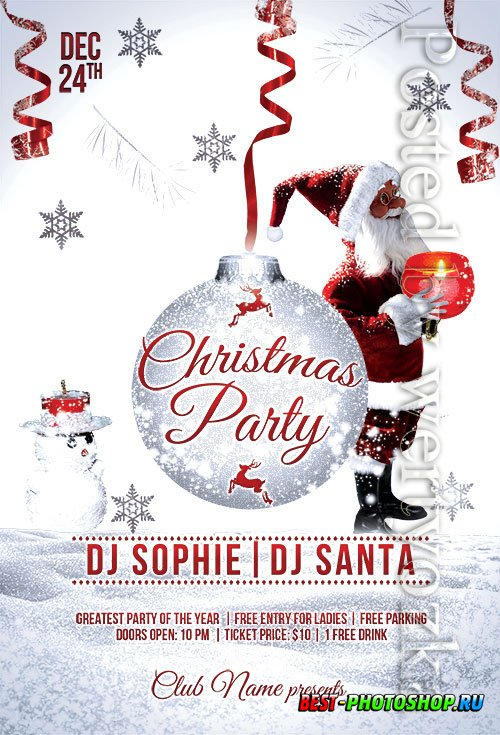 XMAS Event - Premium flyer psd template